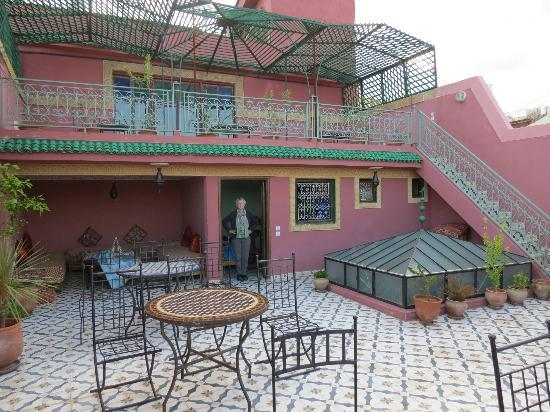 Riad Idrissi : Our terrace room
