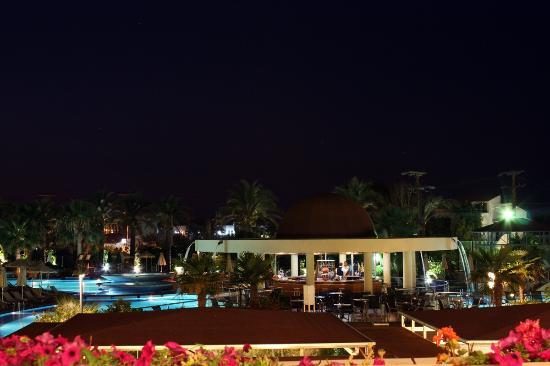 Minoa Palace Resort: View from the Piano bar