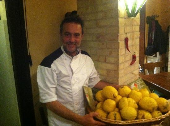 Osteria Nero D'avola: Chef Owner Turi Siligato