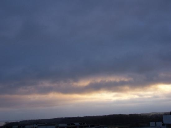 Ostseebad Damp, Alemania: Ein schönes Naturschauspiel findet fast täglich am Himmel statt