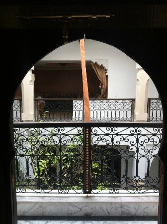 Riad Dar Sohane: View out of the door of the room