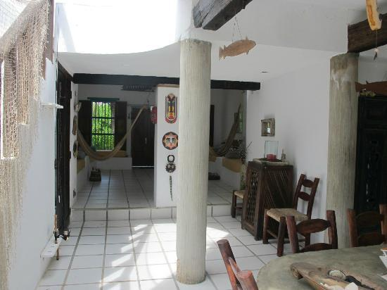 Posada La Terraza: A view to show how spacious the area is.