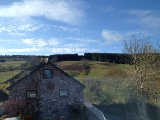 Loch Ness Clansman Hotel: view from the window
