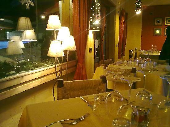 La Thuile, Italy: sala pepita