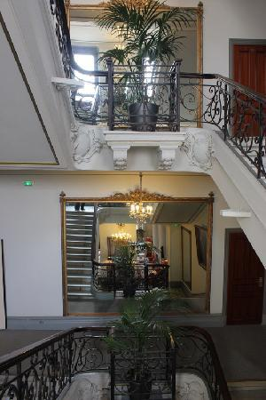 Westminster Hotel & Spa : Stairwell