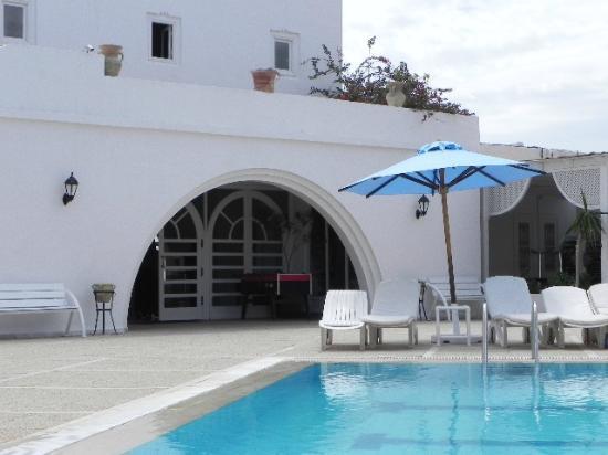 Hotel Djerba Haroun : acces a l acceuil