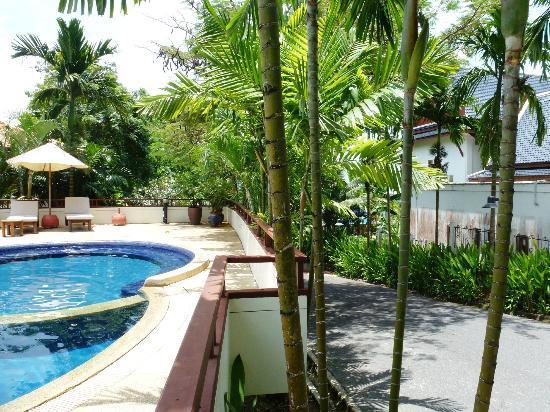 Rising Sun Residence: alles ist schön grün