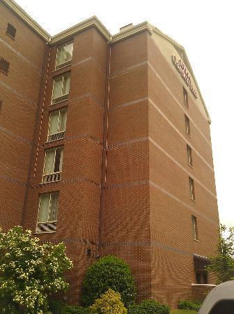 Hilton Garden Inn Baltimore / White Marsh: View from Parking Lot (Side)