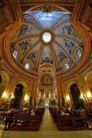 Real Basílica de San Francisco el Grande: interno