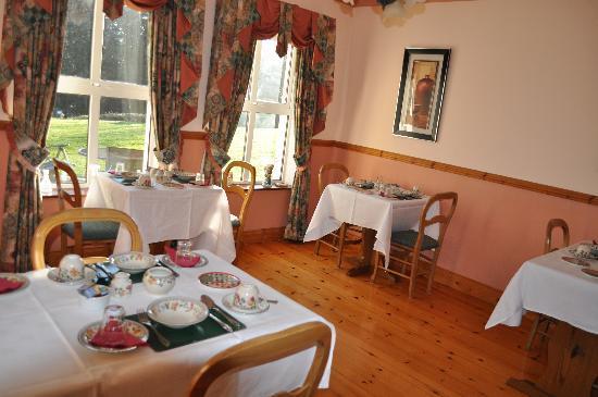 Blarney Vale Bed and Breakfast: Diningroom