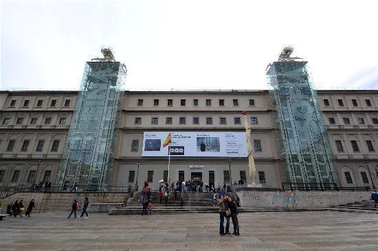 Facciata picture of queen sofia arts center museo - Museo nacional centro de arte reina sofia ...