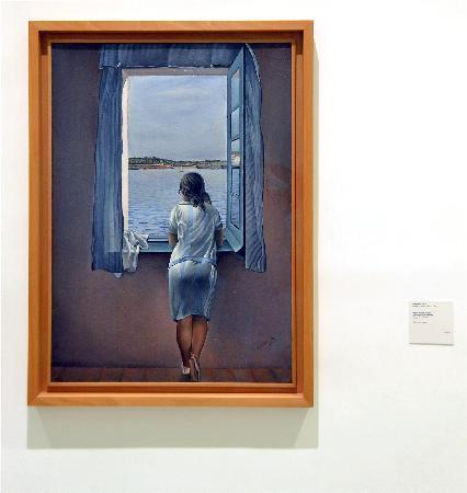 Dal la ragazza alla finestra foto di museo nazionale for Ragazza alla finestra quadro