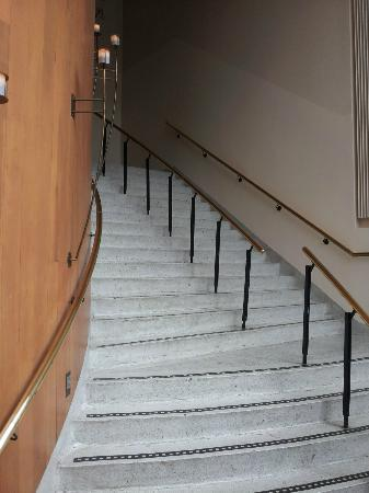 Travelodge Derry: stair case