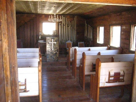 Castle Dome Mines Museum & Ghost Town: Inside the church