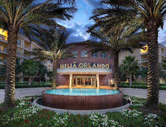 Melia Orlando Suite Hotel at Celebration: Home Entrance