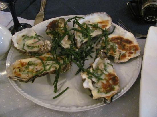 The Harbour Inn: Baked oysters