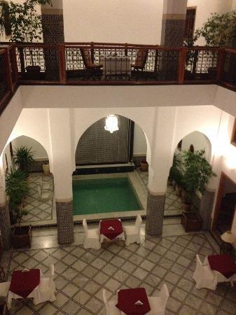 Riad Layali Fes: Dining area