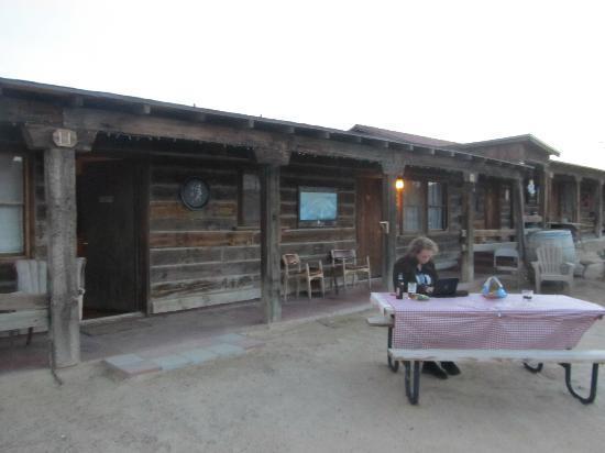 Pioneertown Motel: outside Roy Rogers