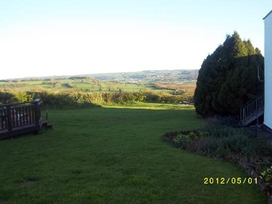 Redhill House: View from room...