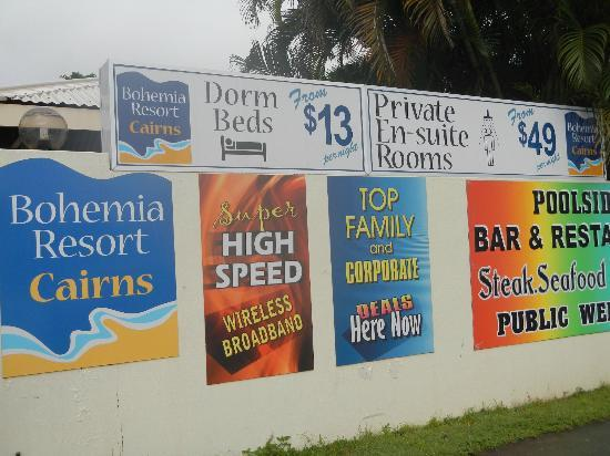 Bohemia Resort: 入り口