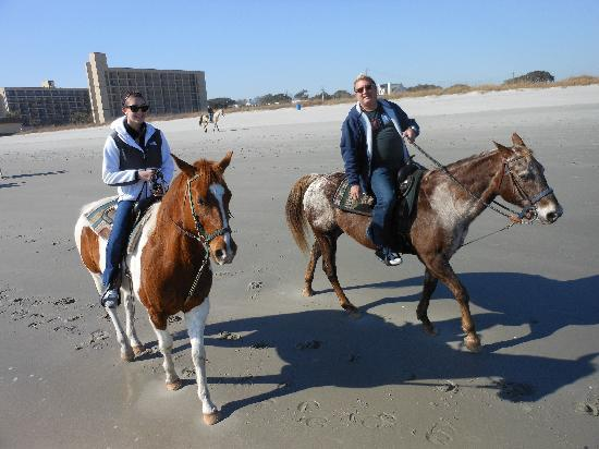 Horseback Riding of Myrtle Beach: Buddy an Cocoa 1 of 18