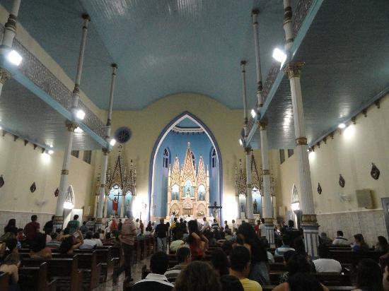 Nossa Senhora dos Remedios Church : Igreja - vista de dentro