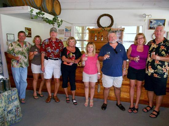 Eden Vineyards and Winery: eden field trip