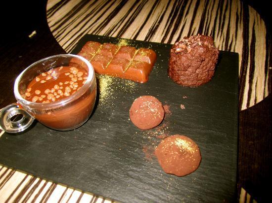 Metro Bistro - Templo de Debod: Chocolate Chocolate and more Chocolate
