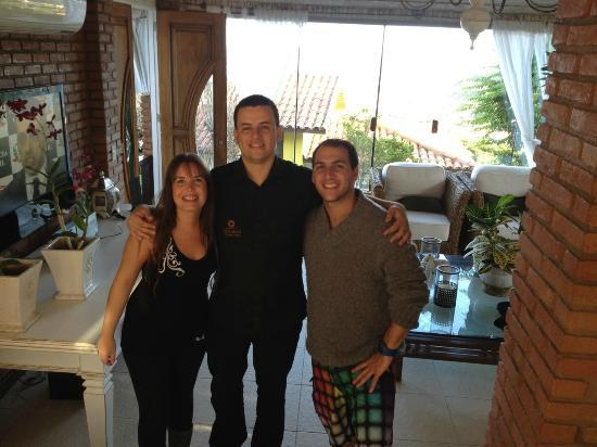 Costa Do Sol Boutique Hotel: nuestro amigo diego