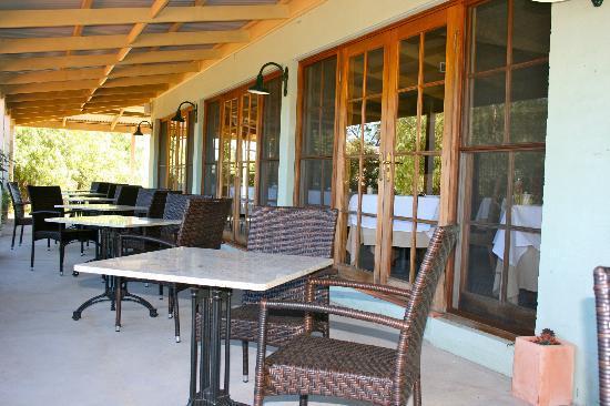 Restaurant Botanica: Outside Seating
