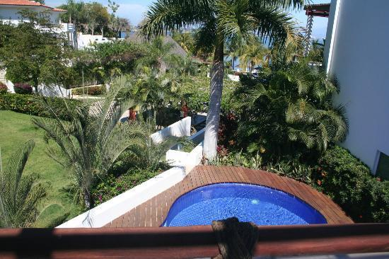 Vallarta Gardens Resort & Spa: view from room