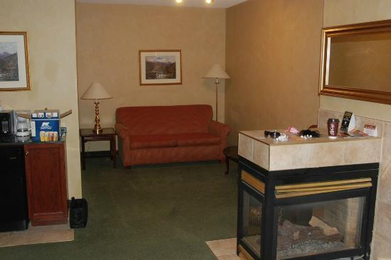 Peterborough Inn & Suites Hotel : Pullout couch