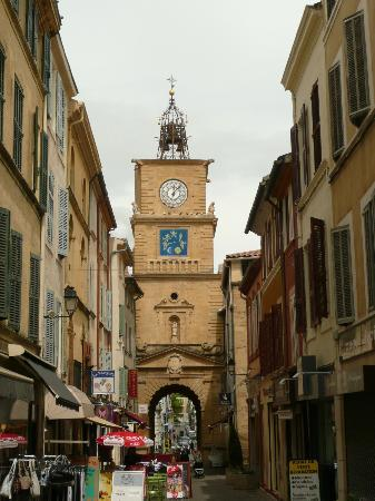 Street nearby the museum of nostradamus salon de provence - Seat salon de provence ...