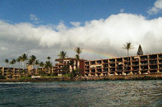 Kaleialoha Condominiums: Condo from ocean