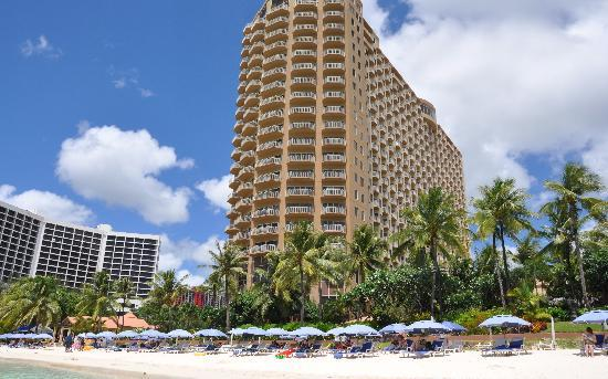 Outrigger Guam Beach Resort The From