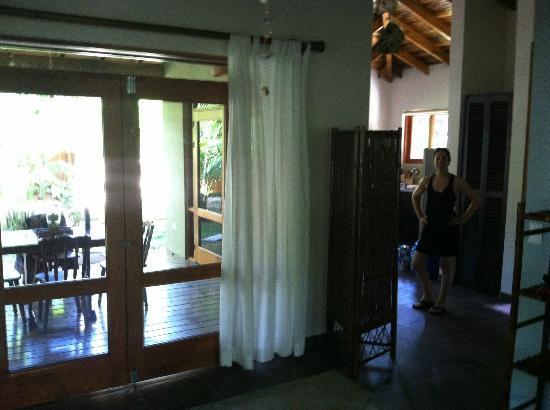 Villas Santa Teresa: Living space and kitchen