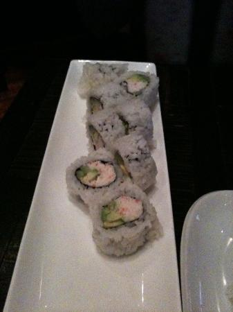 AMI Japanese Restaurant: California roll.