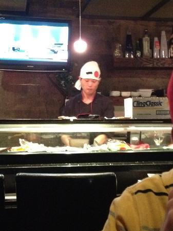 AMI Japanese Restaurant: Sushi chef