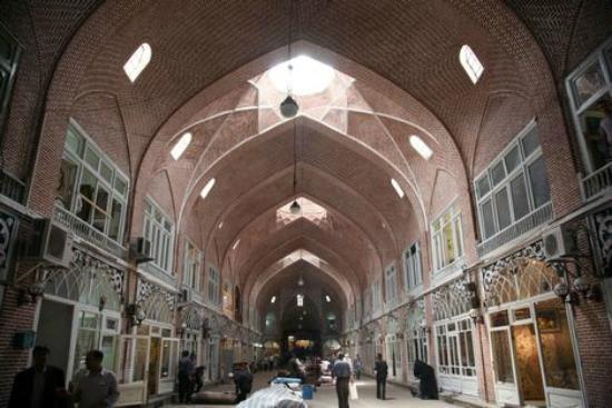 Tabriz historical baazar