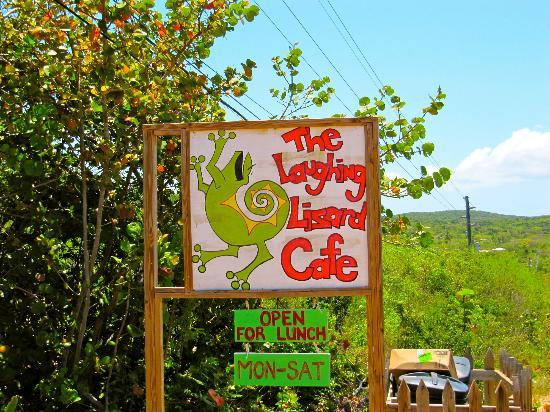 Laughing Lizard Cafe: Only open for lunch Mon-Sat