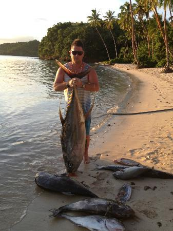 Sport Fishing Fiji: 45kg yellowfin