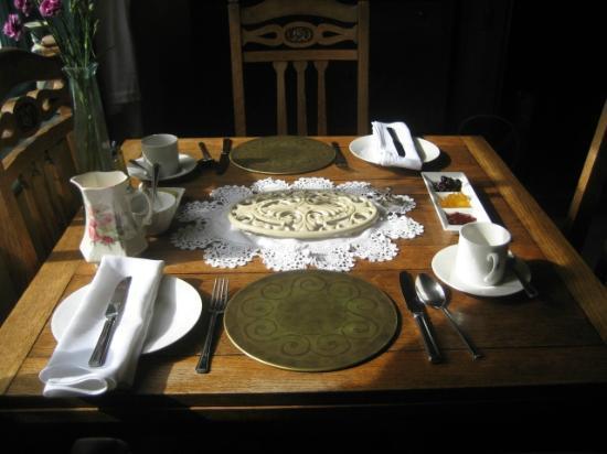 Broseley House: petit déjeûner