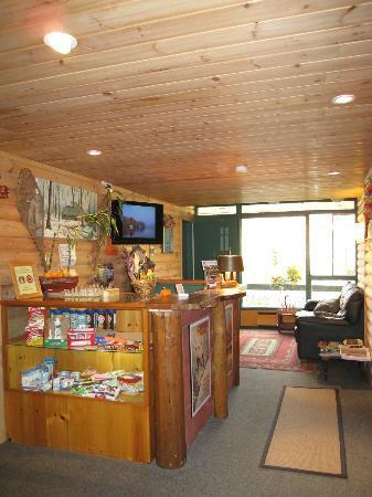 Hotel-Motel Le Boise Du Lac: フロント