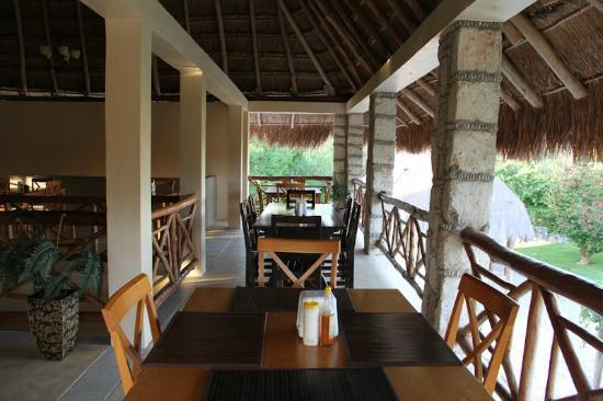 Bacalar Lagoon Resort: el comedor