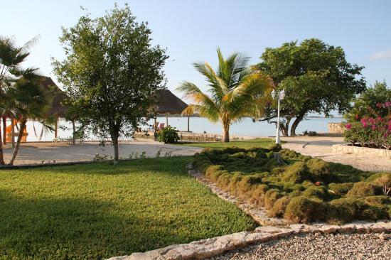 Bacalar Lagoon Resort: frente a cabaña 3