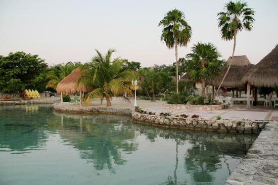 Bacalar Lagoon Resort: desde el muelle