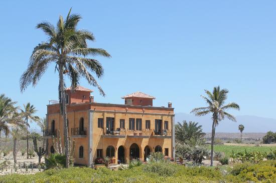 Villa Santa Cruz: view from the palapa