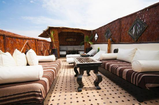Riad Dar Najat: BEST ROOF TERRACE RIAD IN MARRAKECH