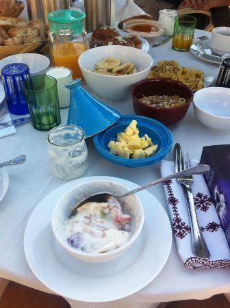 Riad Tizwa Fes: Breakfast