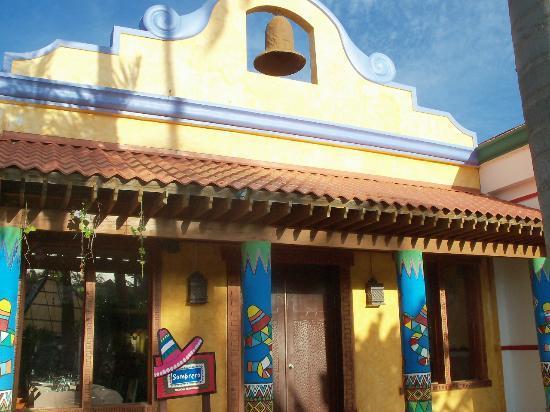 Caribe Club Princess Beach Resort & Spa: Restaurant Mexicain